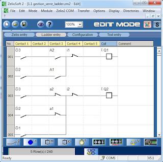 Screenshot 5 : Zelio Soft 2 | Softwares PLC