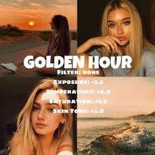 Efek Golden Hour Instagram