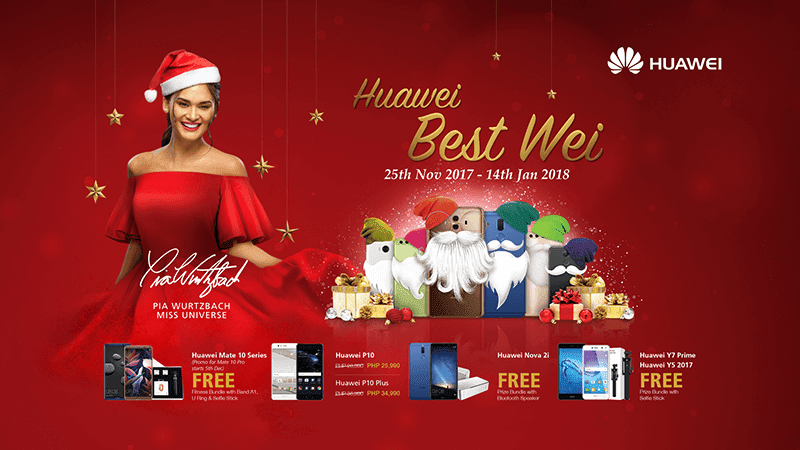 Huawei announces Best Wei Holiday promo!