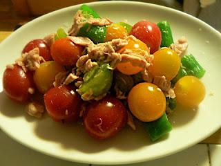 シーチキンとトマトのサラダ