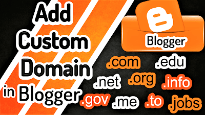 How to Add A Custom Domain on Blogger?