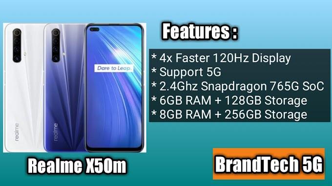 Realme X50m 4x Faster 120Hz Display