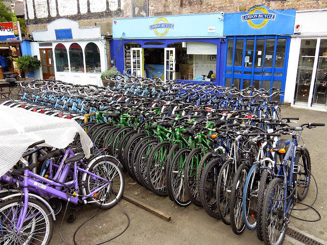 The London Bicycle Tour Company, Gabriel's Wharf, South Bank, Southwark, London