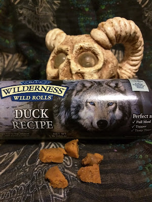 Dog food salami roll