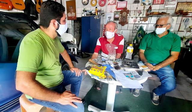 Em Jaboatão Daniel Alves do MDB adapta agenda e continua dialogando com a população