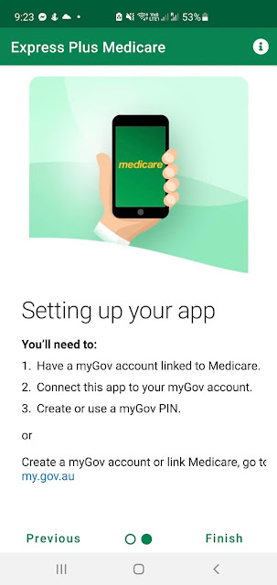 Medicare app available on Google Play