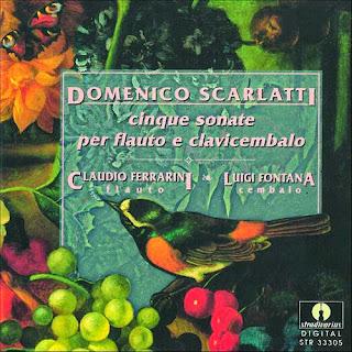 Domenico Scarlatti: Cinque sonate per flauto e clavicembalo