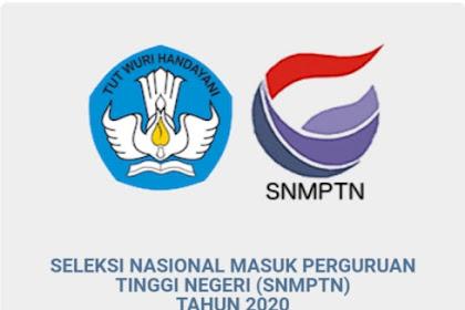 Mengetahui Pengumuman SNMPTN 2020
