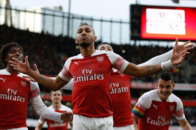 Highlight Arsenal 4-2 Tottenham Hotspur, 2 Desember 2018