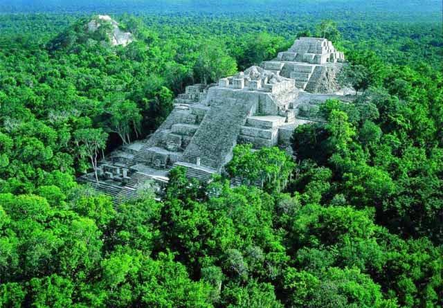 Reserva de la Biosfera Calakmul, México.