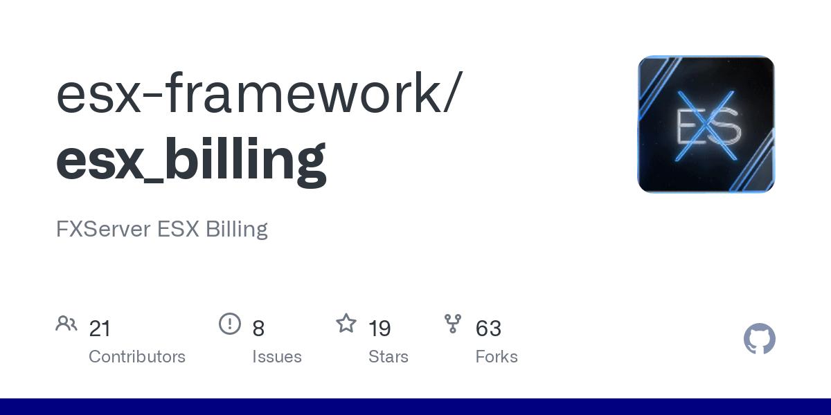 Download And Install esx_billing In your Fivem Server