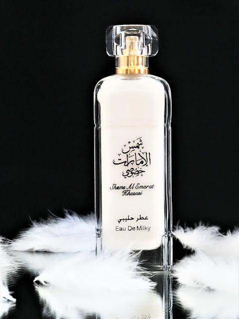 shams al emarat khususi, eau lactée, eau lactée parfumée, brume de parfum, parfum oriental femme, parfum oriental homme