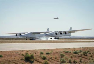 Stratolaunch - largest airplane