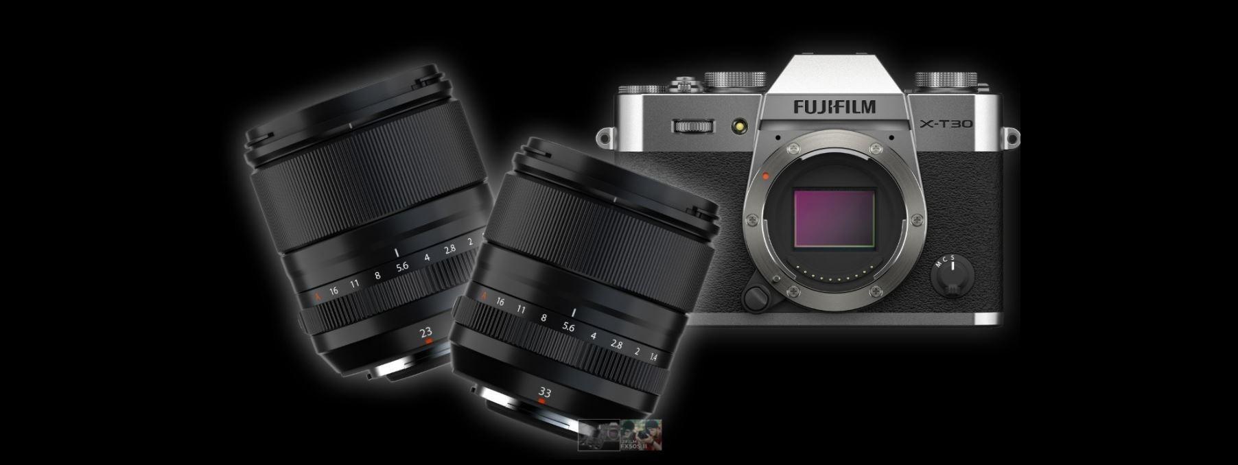 FUJIFILM Announces GFX 50S II Medium Format Camera along with XF 23mm, 33mm Lenses and X-T30 II Mirrorless Camera