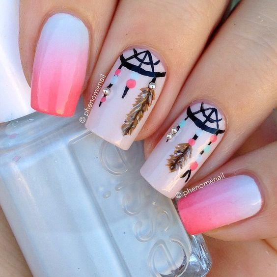 Ideias de unhas by Pinterest #7 | Unhas divertidas