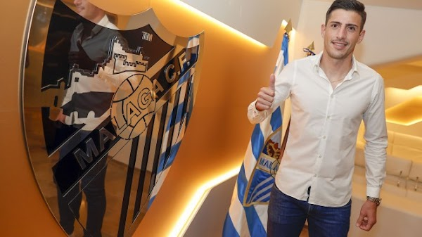 Oficial: Málaga, Pablo Chavarría firma hasta 2023