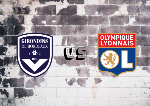 Bordeaux vs Olympique Lyonnais  Resumen