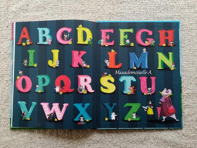 || L'abécédaire de Violette Mirgue : Voyage au pays de l'alphabet (Présentation & Avis)(Chut, les enfants lisent # 89)