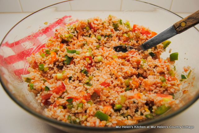 Mexican Rice Salad at Miz Helen's Country Cottage