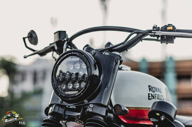 Royal Enfield By Ranger Korat Custom Hell Kustom
