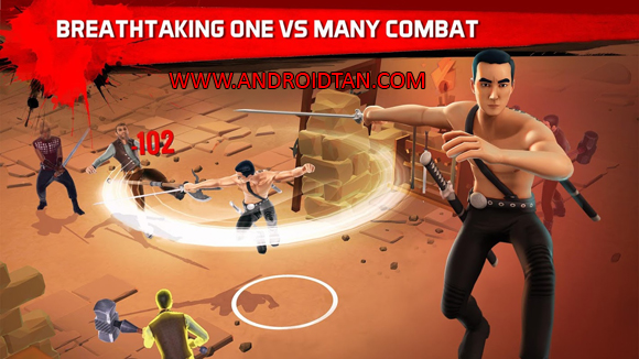 Free Download Into the Badlands Blade Battle Mod Apk + Data v1.0.7 (Unlimited Money) Android Terbaru Full Latest Version 2017