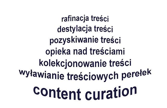 content curation, opieka nad treściami, kolekcjonowanie treści