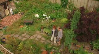 Carol and Adam at the patio