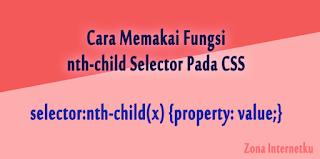 Thumbnail Cara Memakai Fungsi nth-child Selector