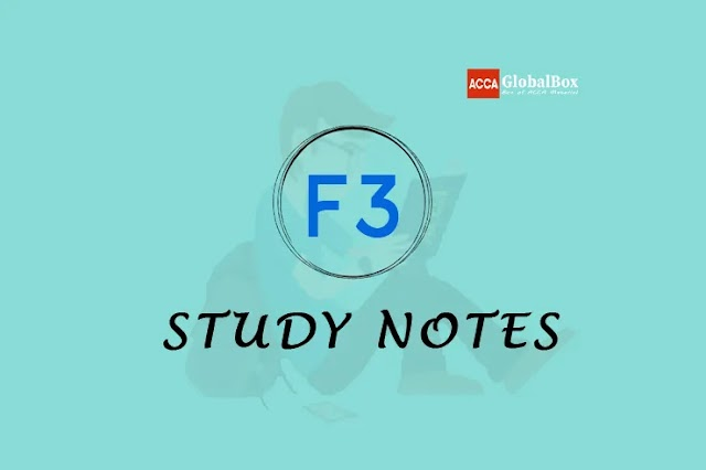 F3 - Self Study Notes