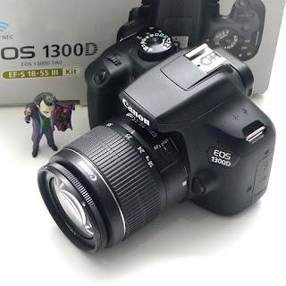 Kamera Canon EOS 1300D Second di Malang