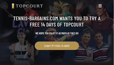 TopCourt Tennis Free Trial