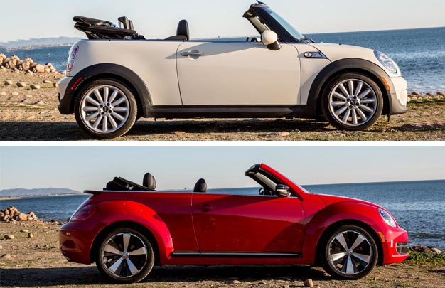 Volkswagen Beetle Turbo Features A Lot Of Comfort And Style The Stands Number One Mini Cooper S Convertible Safety