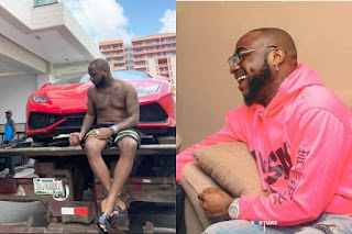 Davido Replies Troll Who Blasted Him For Making Noise After Buying Lamborghini Patoranking Bought Without Making Noise (VIDEO)
