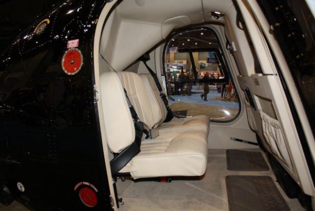 MD 500E interior
