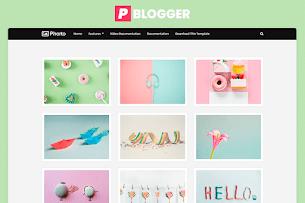 Plantilla para fotografos Blogger - Responsive Blogger Template