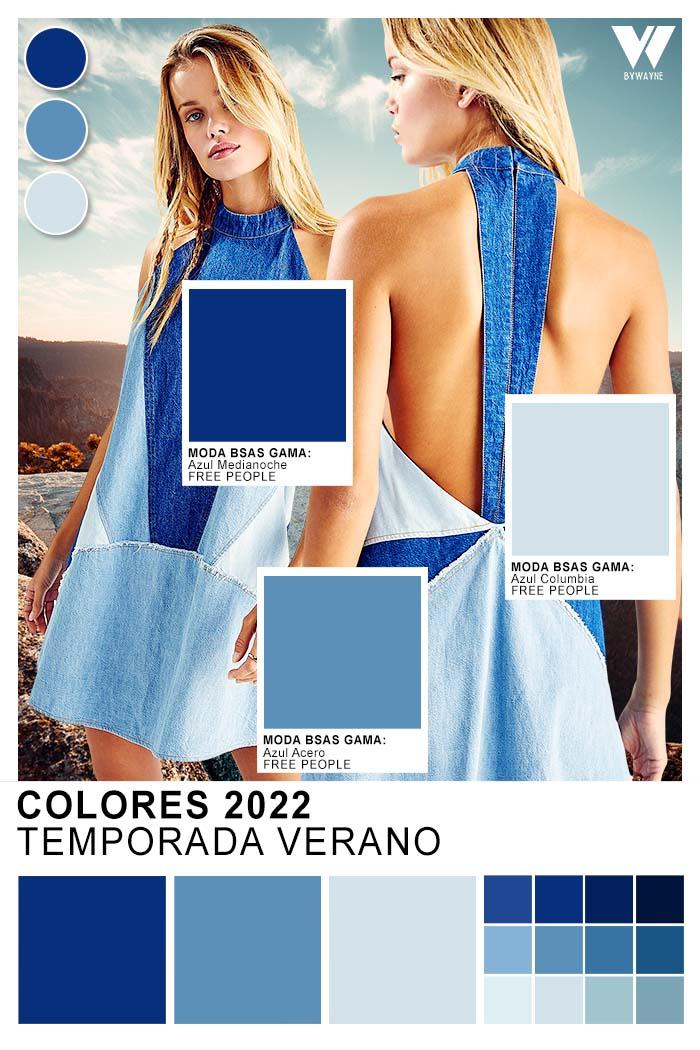 Moda colores primavra verano 2022