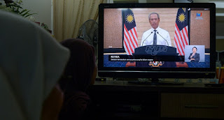 malaysia lockdown dampak virus corona