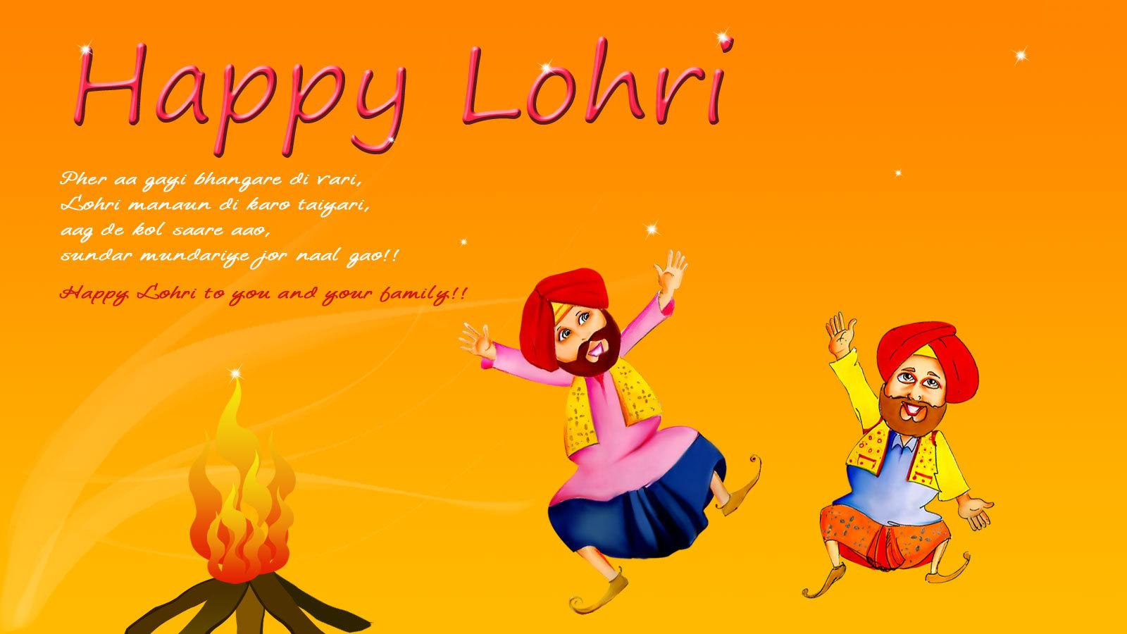 lohri wishes status in hindi punjabi
