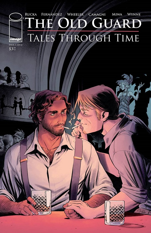 Cover of The Old Guard: Tales Through Time #1