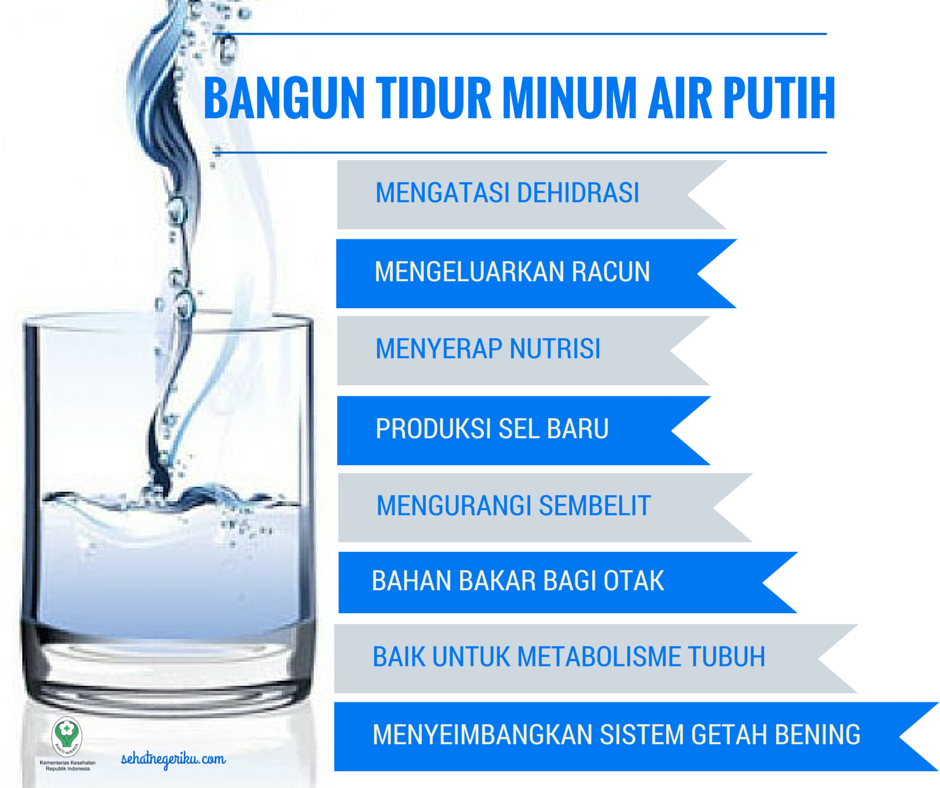 5 Manfaat Minum Air Putih Pagi Hari Yang Terabaikan Recehan Kesehatan
