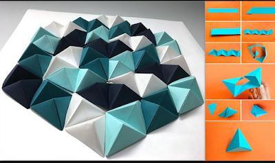 11 Tutorial Membuat Hiasan Dinding Dari Kertas Mudah Sederhana Dan Tidak Menguras Kantong 8