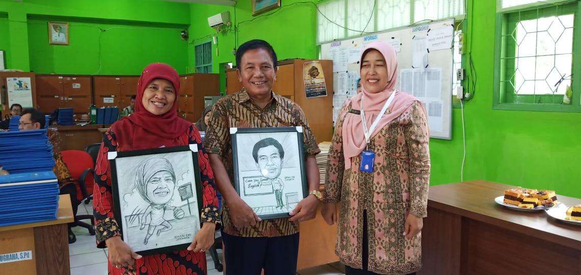 Purnabakti Bapak Hamdan dan Ibu Endang Tahun 2019