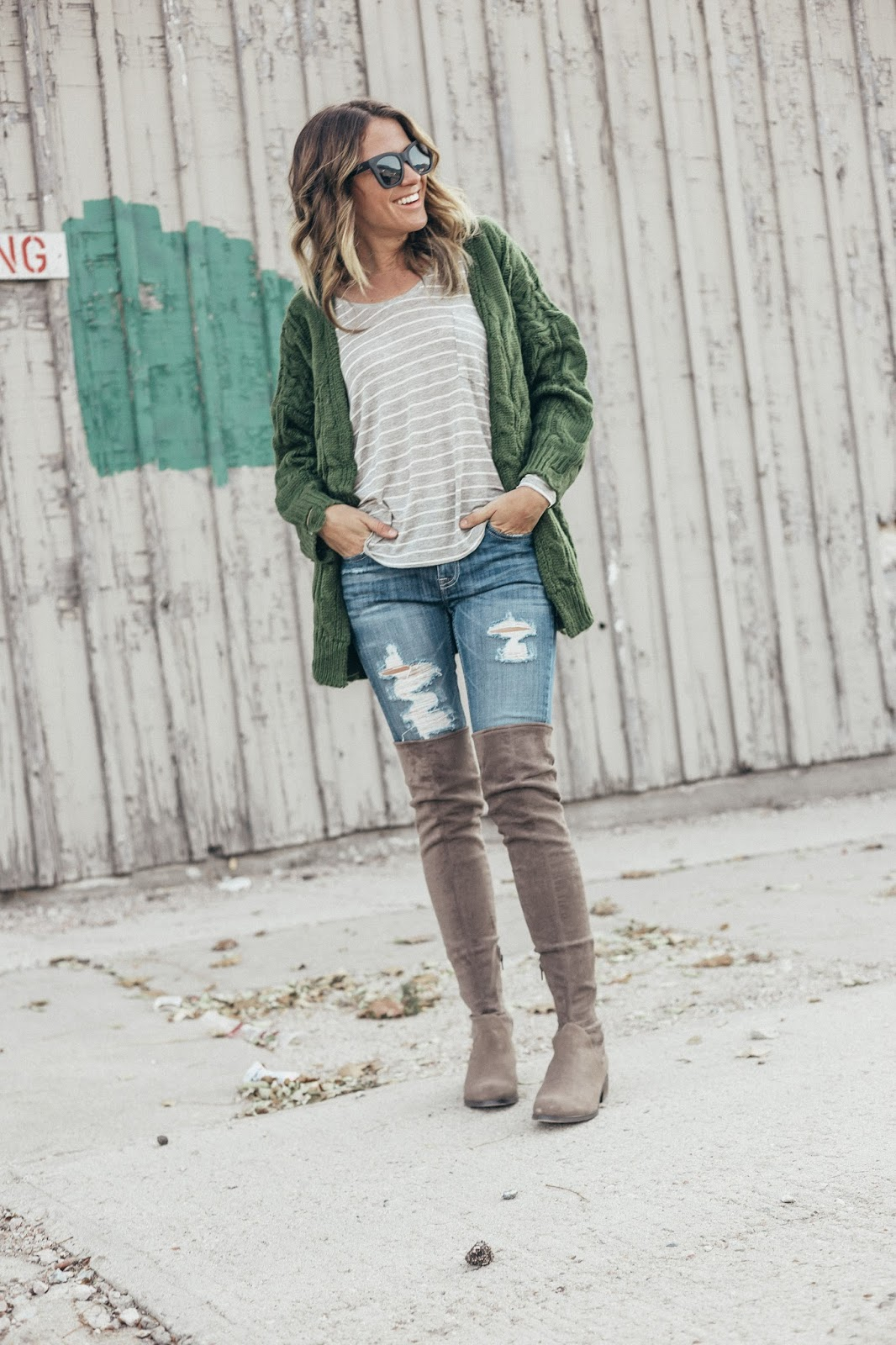 Stuart Weitzman Over The Knee Boots Dupes by Colorado fashion blogger Eat Pray Wear Love