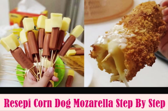 resepi cara buat corndog