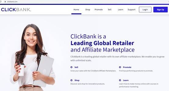 Use clickbank to get best affiliate programs for niche