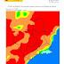 El nivel de riesgo de incendio forestal previsto para hoy martes es EXTREMO en la mayor parte de la Región