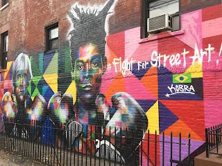 Arte callejero en las paredes de Williamsburg