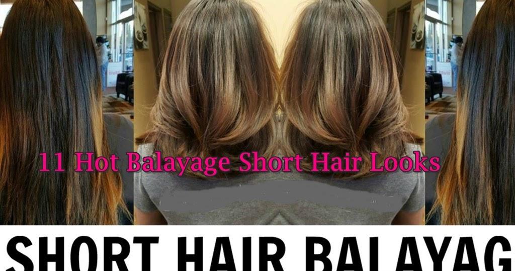 11 Hot Balayage Hair Color Ideas For Short Hair Hair Fashion Online