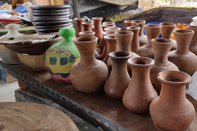 Daerah Penghasil Seni Kerajinan Keramik atau Gerabah di Indonesia