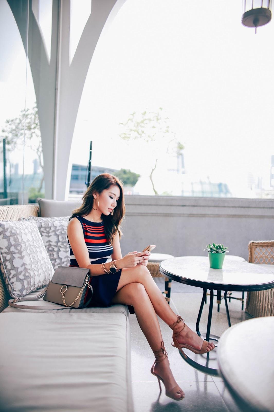the clifford pier, fullerton bay, singapore, fashion, blog, fall 2016, michael kors, access